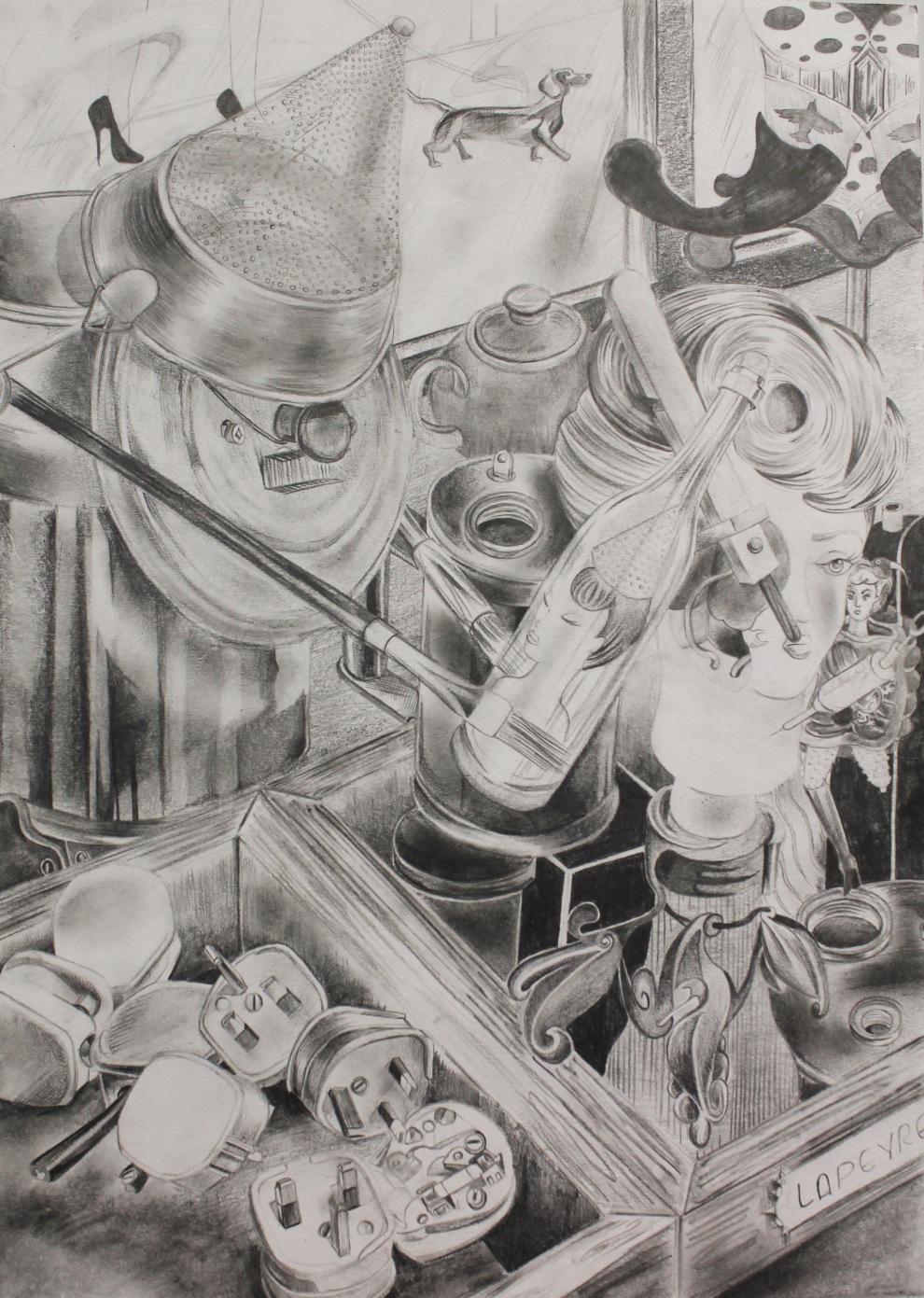 graphite on A3 paper