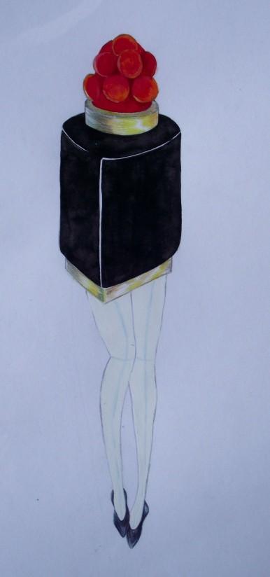 Lapeyre Lipstick Art surreal Lipstick, Lipstick fashion drawing, Kaiju Lipstick
