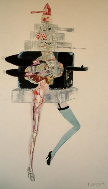 organs and mechanics of mecha lipstick